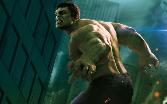 Strong Website designing like a Hulk